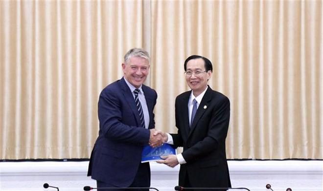Ciudad Ho Chi Minh y Nueva Zelanda consolidan la cooperación comercial e inversionista - ảnh 1