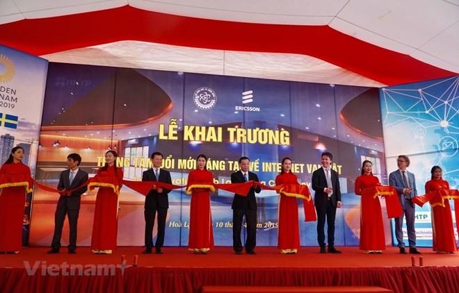 Inauguran primer centro innovador de alta tecnología en Vietnam - ảnh 1