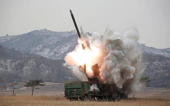 Corea del Norte lanza varios proyectiles de corto alcance - ảnh 1