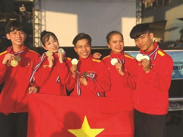 Vietnam gana 72 medallas en el Campeonato de Taekwondo del Sudeste Asiático - ảnh 1