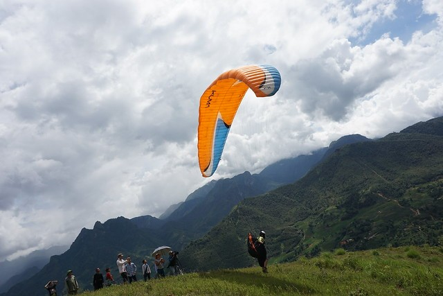 Hanoi Paragliding, hogar de los apasionados del parapente - ảnh 1