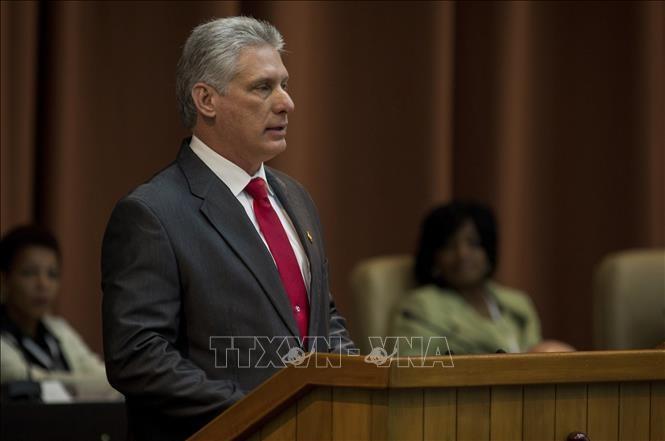 Díaz-Canel: Cuba no se amedrentará ni distraerá con nuevas sanciones de Estados Unidos - ảnh 1