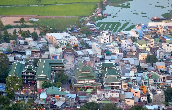 Descubren la Zona Turística Nacional de Nui Sam en An Giang - ảnh 1