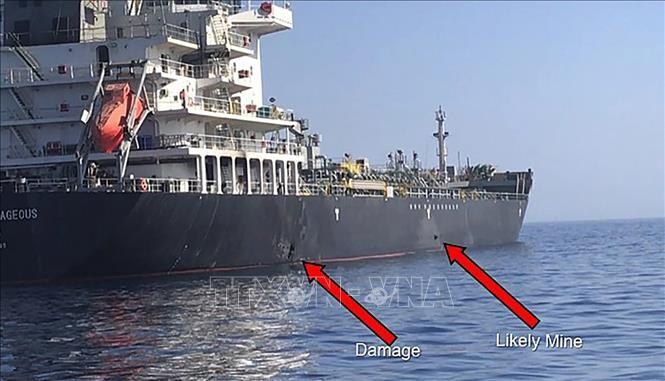 Aumentan tensiones en el golfo de Omán - ảnh 1