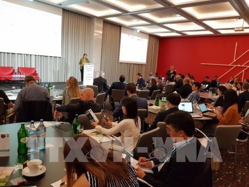 Alimentos orgánicos de Vinamilk impresionan en XIII Congreso Mundial de Productos Lácteos - ảnh 1