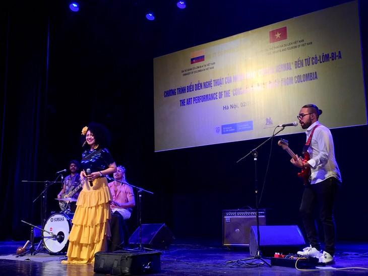 Colombia trae su música folclórica a la audiencia de Hanói - ảnh 1