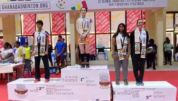 Deportista vietnamita triunfa en Torneo Internacional de Bádminton en Ghana - ảnh 1