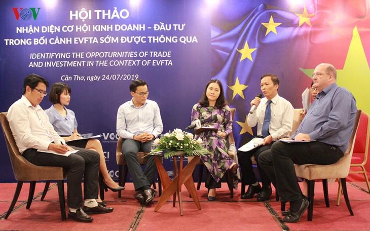 Celebran en Can Tho seminario sobre Tratado de Libre Comercio entre Vietnam y la UE - ảnh 1
