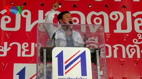 Manifiestan tailandeses contra proyecto de amnistía a Thaksin Shinawatra - ảnh 1