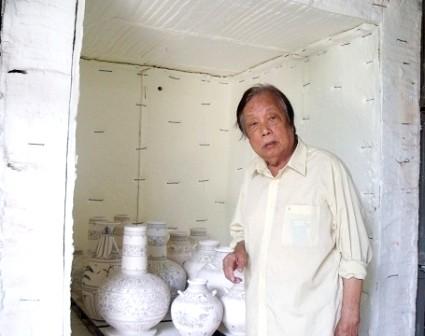 Nguyen Viet, quien hizo revivir al tradicional celadón de tiempos pasados - ảnh 1