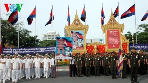 Cambodia celebra aniversario 60 de su independencia - ảnh 1