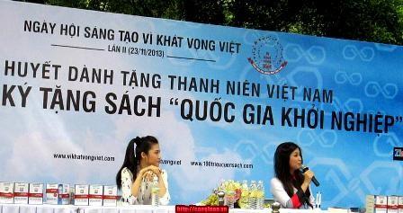 Inauguran segundo Día de creatividad para jóvenes vietnamitas - ảnh 1