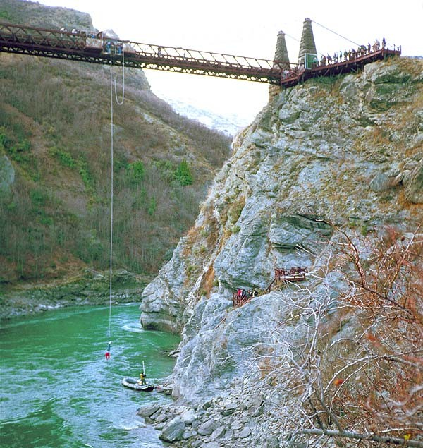 Bungy jumping – the craziest in New Zealand  - ảnh 1