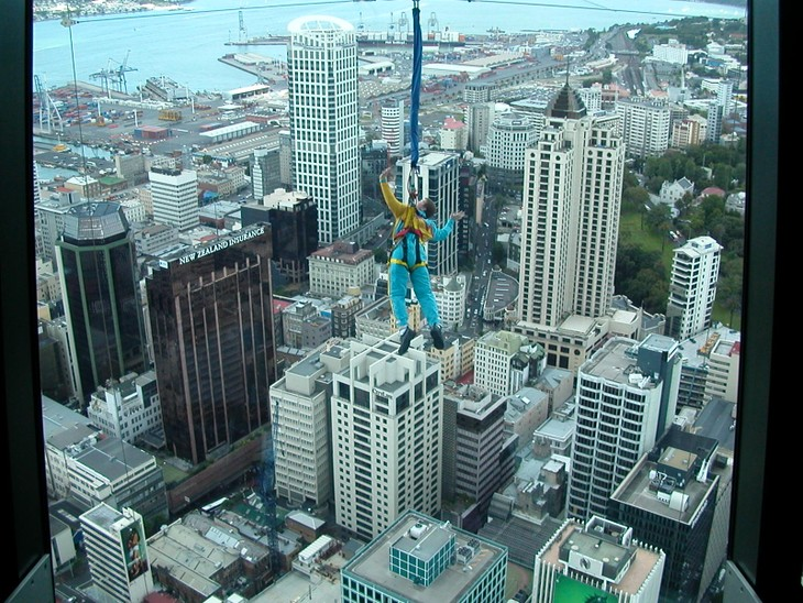 Bungy jumping – the craziest in New Zealand  - ảnh 3