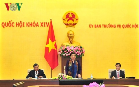 NA Vice Chairwoman chairs APPF-26 organizing committee debut ceremony - ảnh 1