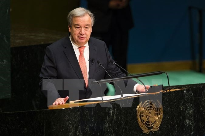 UN Charter has vital role in dealing with global challenges: UN chief - ảnh 1