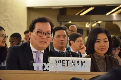 Vietnam attends UN Human Rights Council's 37th session - ảnh 1