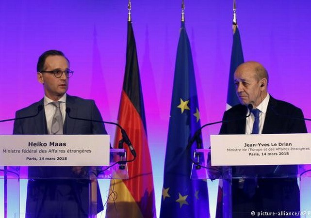 France, UK, Germany vow to maintain Iran nuclear deal  - ảnh 1