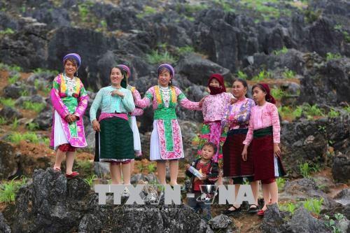 Khau Vai Love Market Festival opens in Ha Giang - ảnh 1