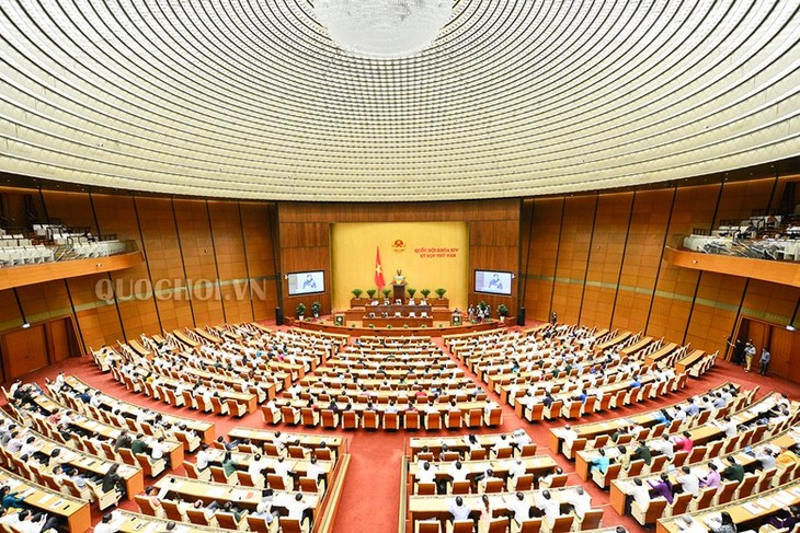 Legislators discuss revised Law on People's Public Security  - ảnh 1