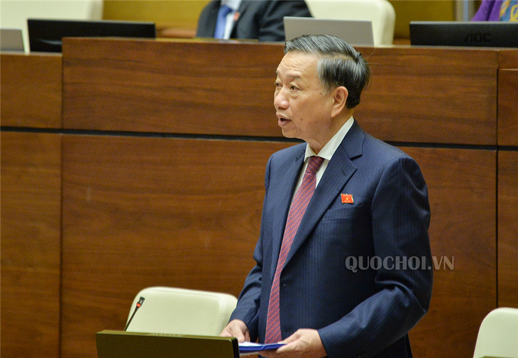 NA discusses amendments to revised Law on People's Public Security - ảnh 1