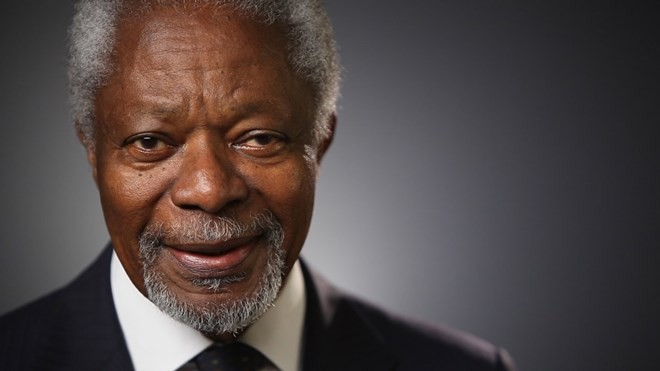 Memorial ceremony to be held for former UN Secretary General Kofi Annan - ảnh 1