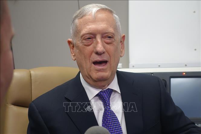 US Defense Secretary makes surprise visit to Afghanistan  - ảnh 1