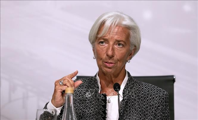 IMF chief: Trade conflicts are diming global growth outlook - ảnh 1