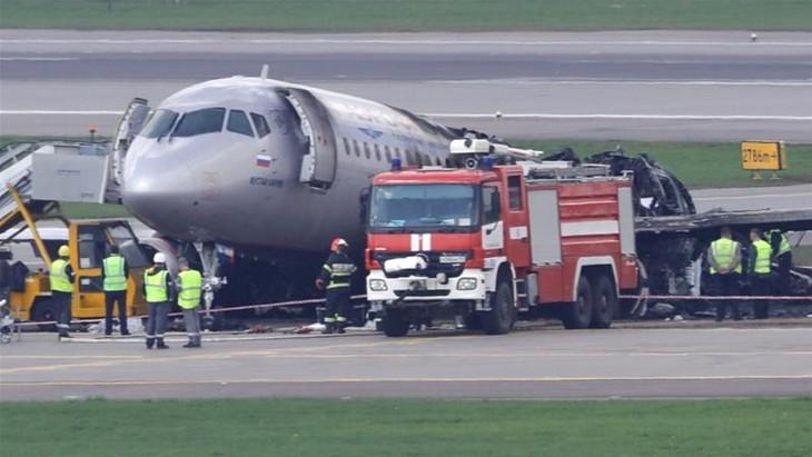 Pilot: Lightning causes deadly Aeroflot crash  - ảnh 1