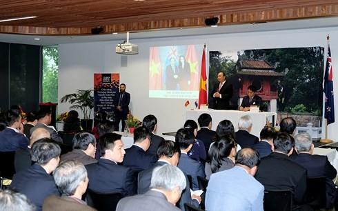 Nguyen Xuan Phuc국무총리 재뉴질랜드 교민 만남 - ảnh 2