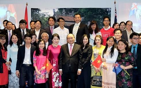 Nguyen Xuan Phuc국무총리 재뉴질랜드 교민 만남 - ảnh 3
