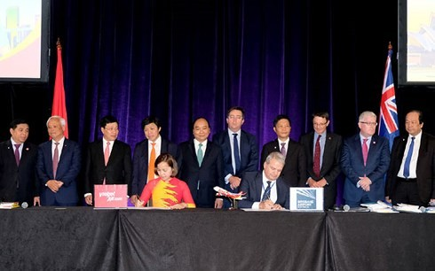 Nguyen Xuan Phuc총리 베트남 – 호주 기업포럼 참석 - ảnh 1