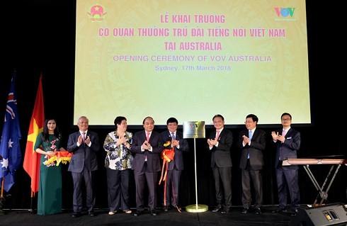 총리, VOV 호주상주 기관 설립식 참석 - ảnh 1
