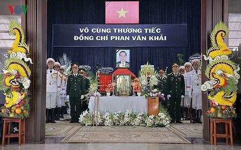 베트남  이틀간 (3.20일~21일까지) Phan Van Khai 전 국무총리 국장 행사 - ảnh 1