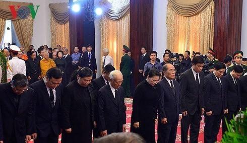 베트남  이틀간 (3.20일~21일까지) Phan Van Khai 전 국무총리 국장 행사 - ảnh 2