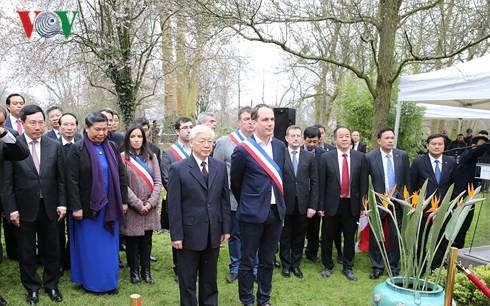 Nguyen Phu Trong총서기장 프랑스 공식방문 - ảnh 2