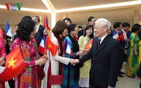 Nguyen Phu Trong총서기장 프랑스 공식방문 - ảnh 1