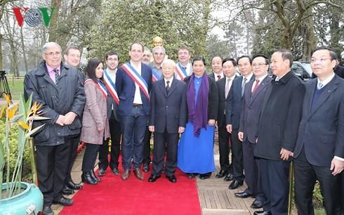 Nguyen Phu Trong총서기장 프랑스 공식방문 - ảnh 3