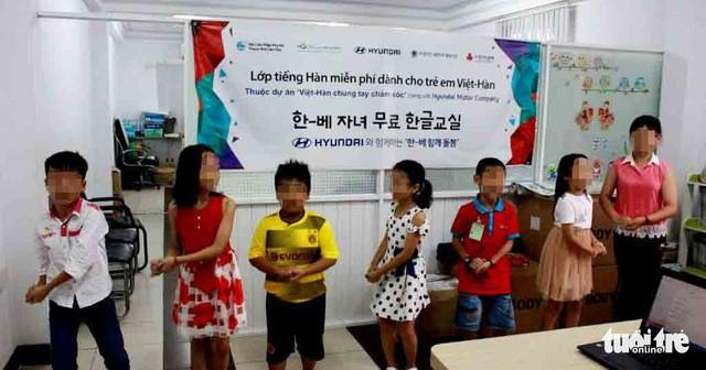 (베트남 교포) 한국에서 한 – 베 가정 자녀를 위한 베트남어 수업 개강 - ảnh 1
