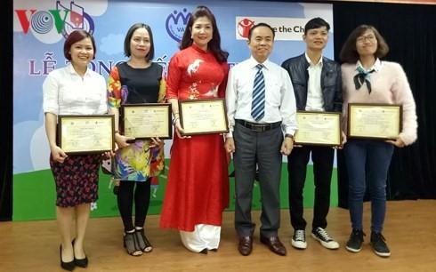 베트남 라디오 방송국 아동 언론상 수상 - ảnh 1