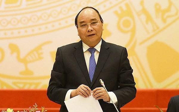 응웬 쑤언 푹(Nguyen Xuan Phuc)총리 특구 건설에 대한 국가지도위원회 회의 주재 - ảnh 1
