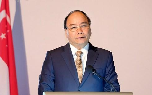 응웬 쑤언 푹 (Nguyen Xuan Phuc)총리 , 베트남 싱가포르 투자자 환영 - ảnh 2