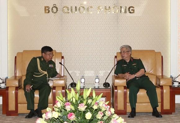 베트남 미안마와 국방협력관계 중시 - ảnh 1