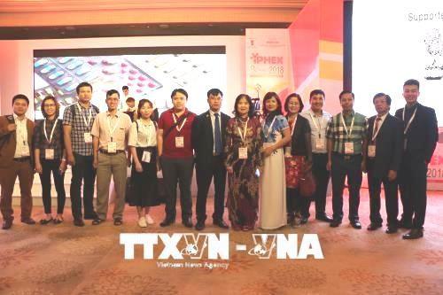 베트남 인도에 2018년 약품.의료 국제 전시회 참가 - ảnh 1