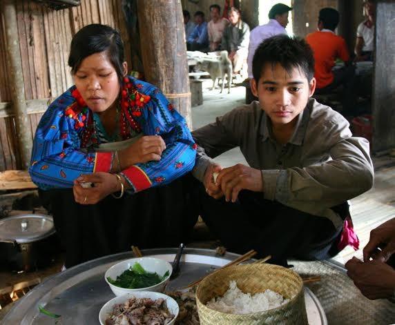 Lai Chau 성 Mang 민족의 독특한 결혼식 - ảnh 4
