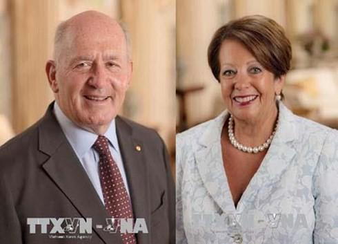 호주 총독 및 부인 정상급 베트남 방문 시작 - ảnh 1