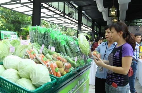 전통 시장에서의 농산물 소비 촉진  - ảnh 1