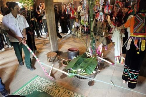 La Ha족 'Pang a'축제의 특색 - ảnh 1