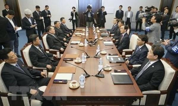 한국 및 조선 인민민주공화국 철도 연결 논의 - ảnh 1