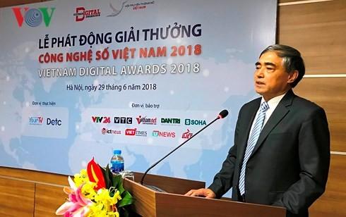 2018년 첫 베트남 디지털 기술상 - ảnh 1